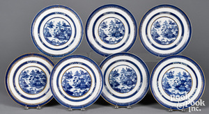 Chinese export Nanking porcelain, 19th c.