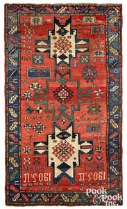 Kazak carpet, dated 1905