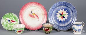 Spatter tablewares