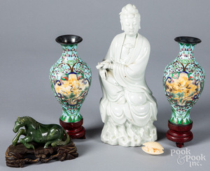 Chinese blanc de chin Guanyin, etc.