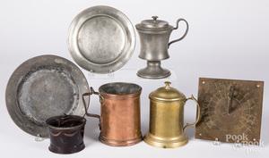 Miscellaneous metalware