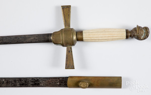 W.H. Horstmann lodge sword