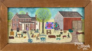 Dolores Hackenberger Amish farm scene