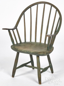 Child's continuous arm Windsor chair, ca. 1830