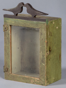 Small painted cupboard, 19th c.