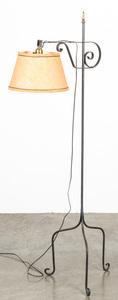 Iron floor lamp, 60 1/2