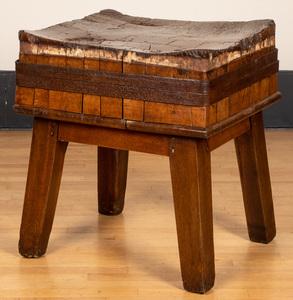 Butcher block table 31