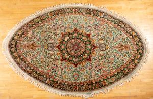 Contemporary Qom style carpet, 10'5
