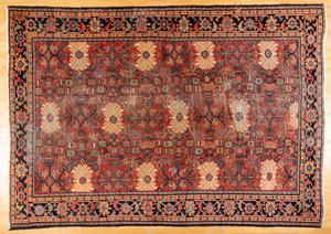 Heriz carpet, ca. 1940, 12'5