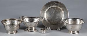 Sterling silver tablewares, 15.4 ozt.