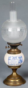 Advertising fluid lamp, ca. 1900