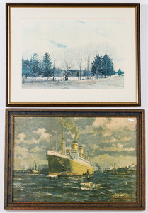 Two printed works, 18