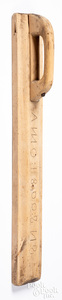 Scandinavian mangle board