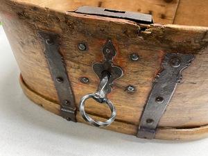 Scandinavian lock box, 19th c.