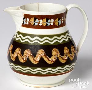 Mocha water pitcher