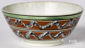 Large mocha bowl