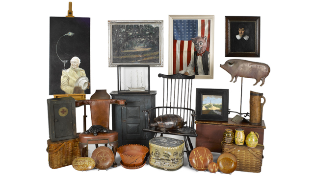 Art & Antiques removed from Big Bend, The Estate of George
