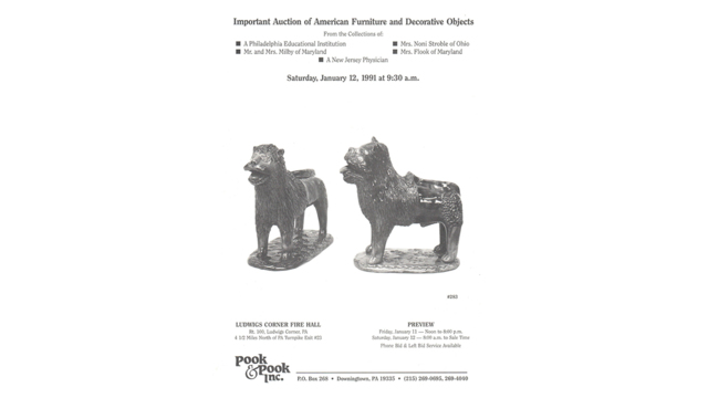 Important Auction of American Furniture and Decorative Objects