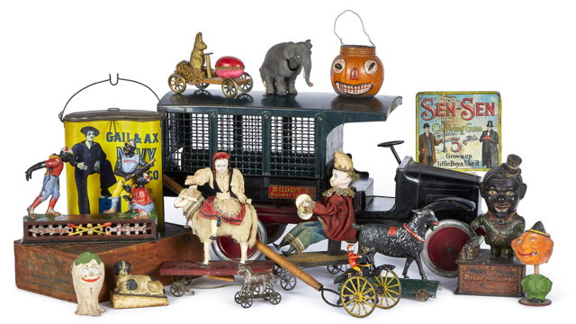 Christmas Antique Toy Auction