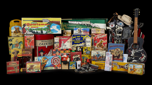 The Gerritt & Shirley Breininger Western Toy Collection