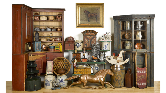 The Collection of Barbara A. & Fred Johnson, Rockford, Illinois