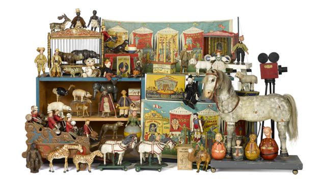 Toys, Trains, & Vintage Advertising