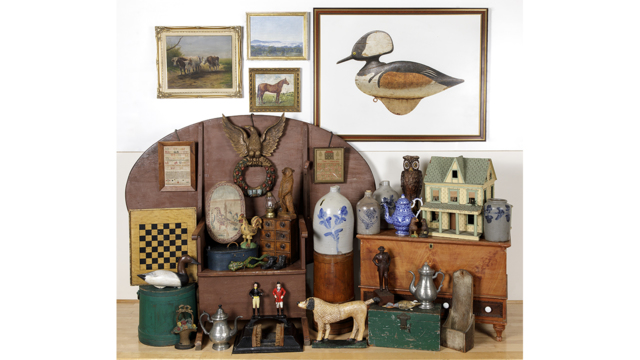 Online Only Decorative Arts - Session One