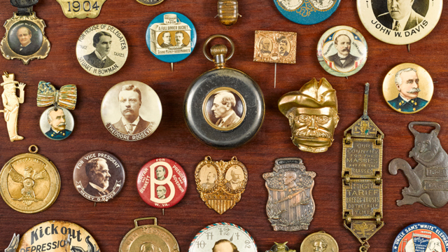 Online Only Coins, Paper Currency, and Political Pins Auction