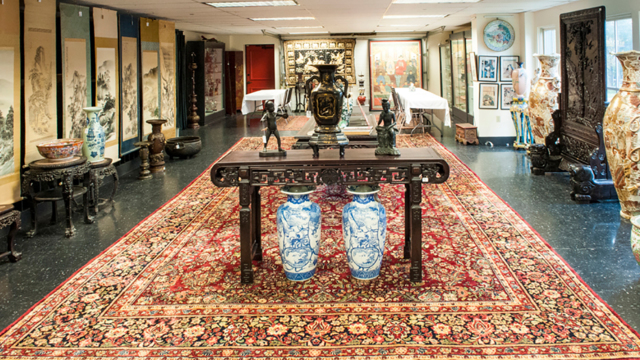 Asian Decorative Arts & Oriental Carpets,