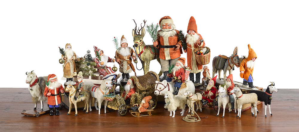 Selection of Christmas Toys and Decorations